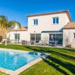 Villa deux étages avec piscine à Six Fours