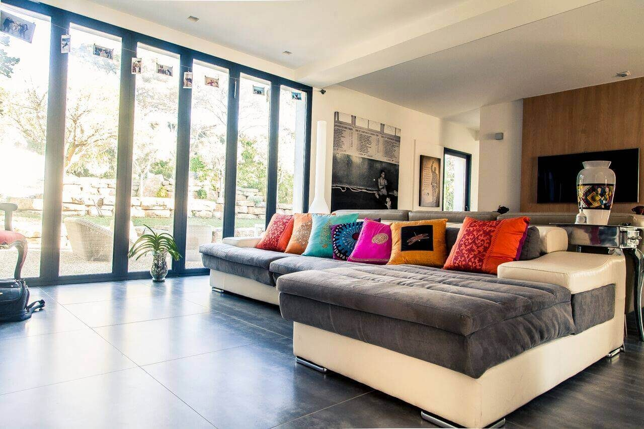 aménagement séjour maison neuve à Toulon